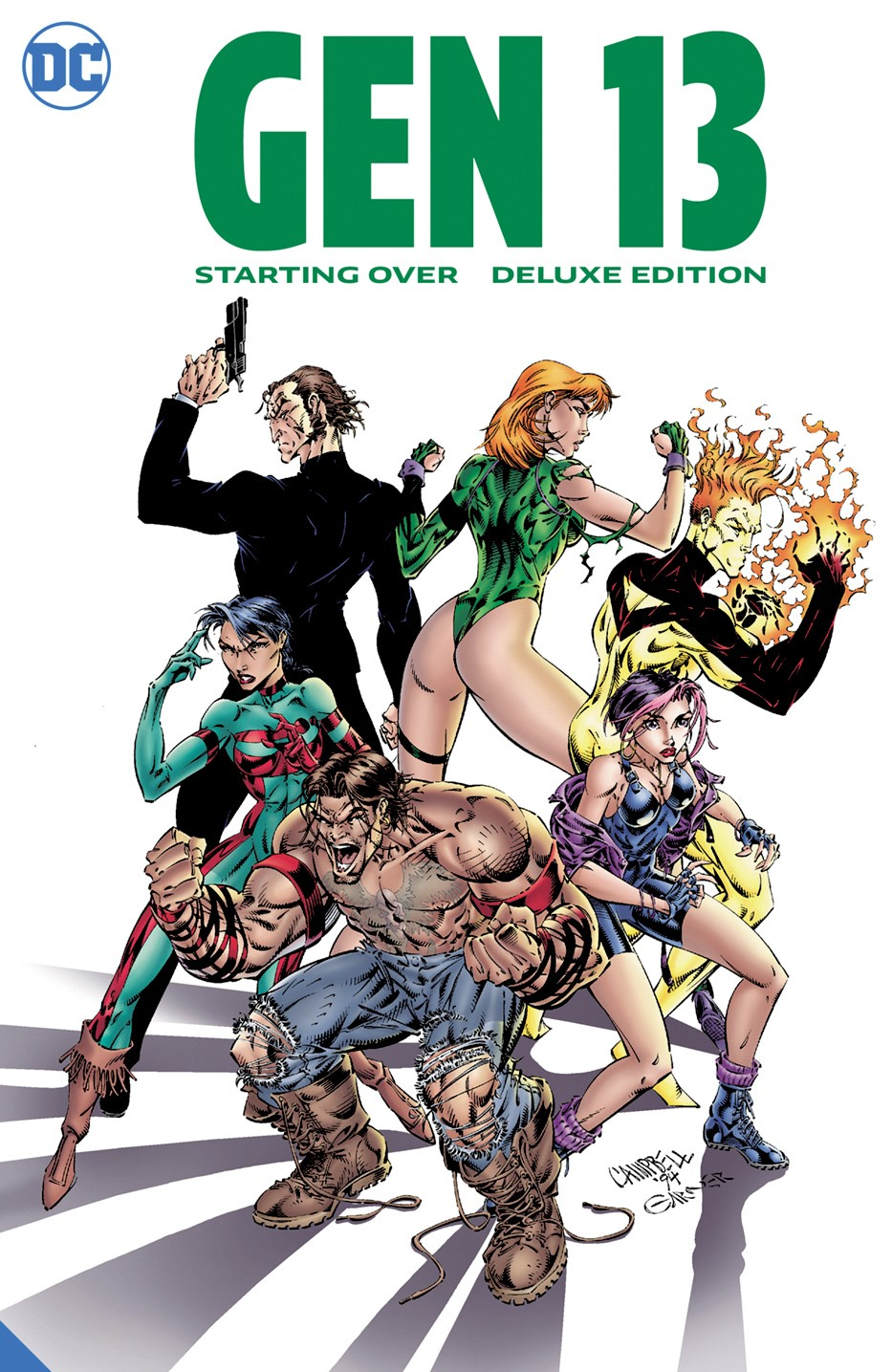 gen13_starting_over_deluxe_edition DC Comics November 2021 Solicitations