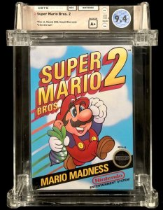 sup288.5-233x300 Video Game Auctions 8/10: Super Mario Bros. Brings in $2M!