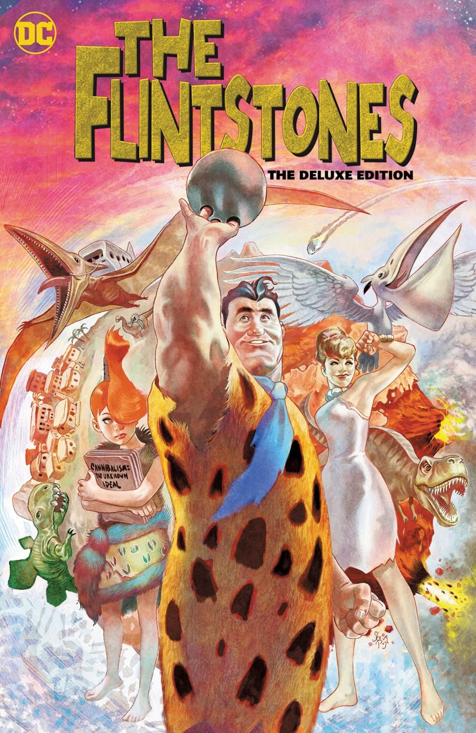 theflintstones-deluxe-edition DC Comics November 2021 Solicitations