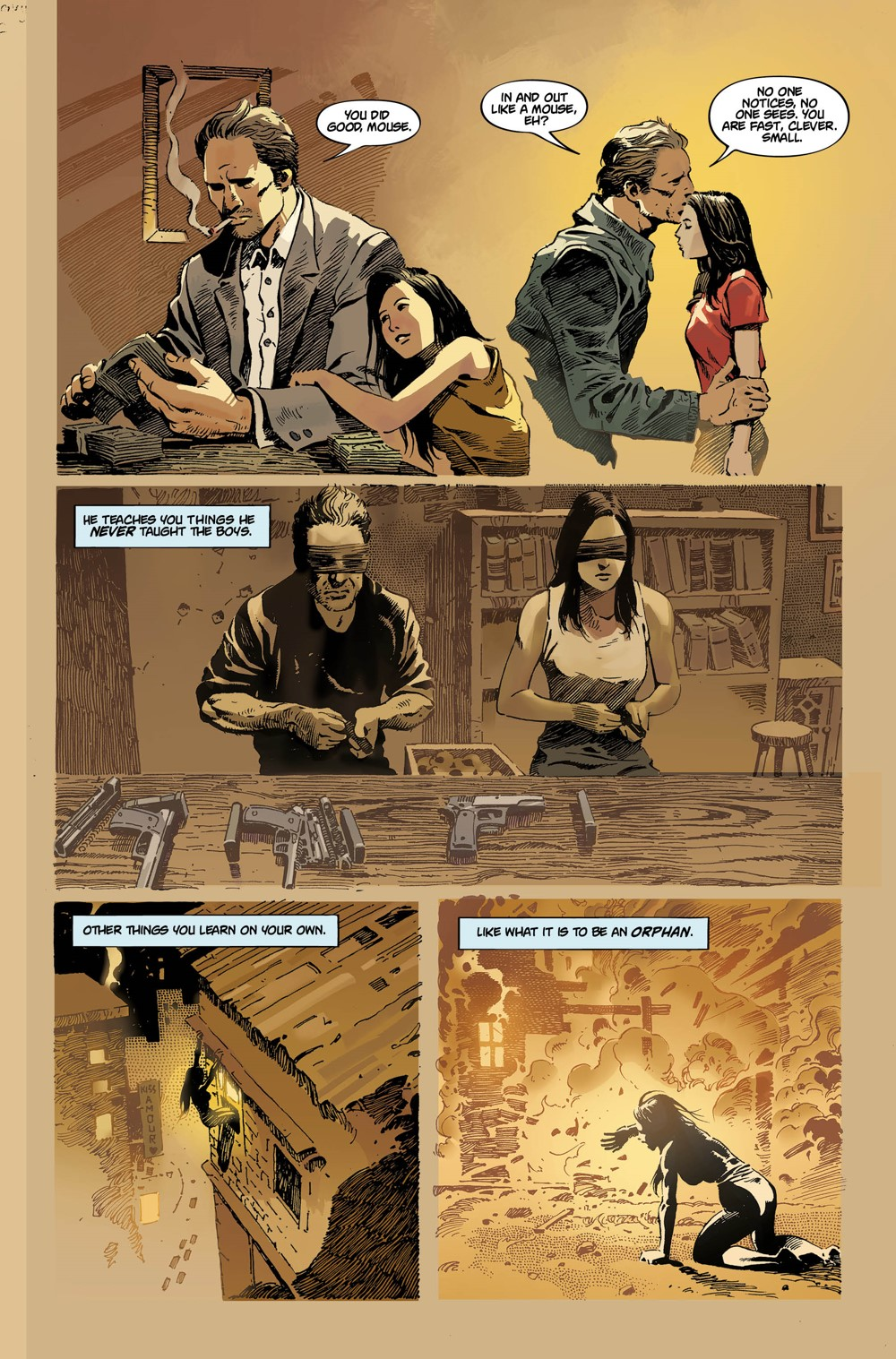 3 ComicList Previews: GUN HONEY #1