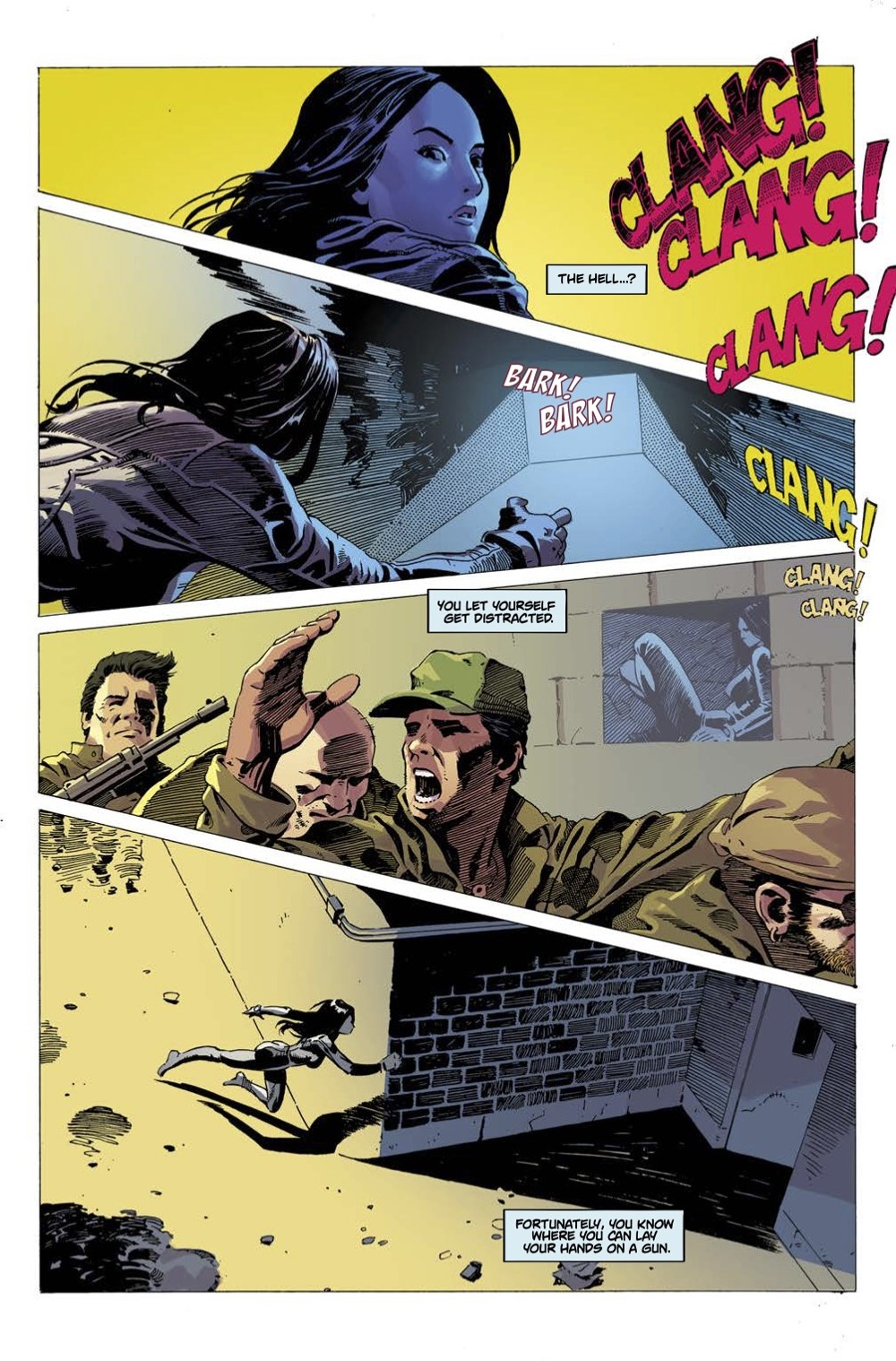 5 ComicList Previews: GUN HONEY #1
