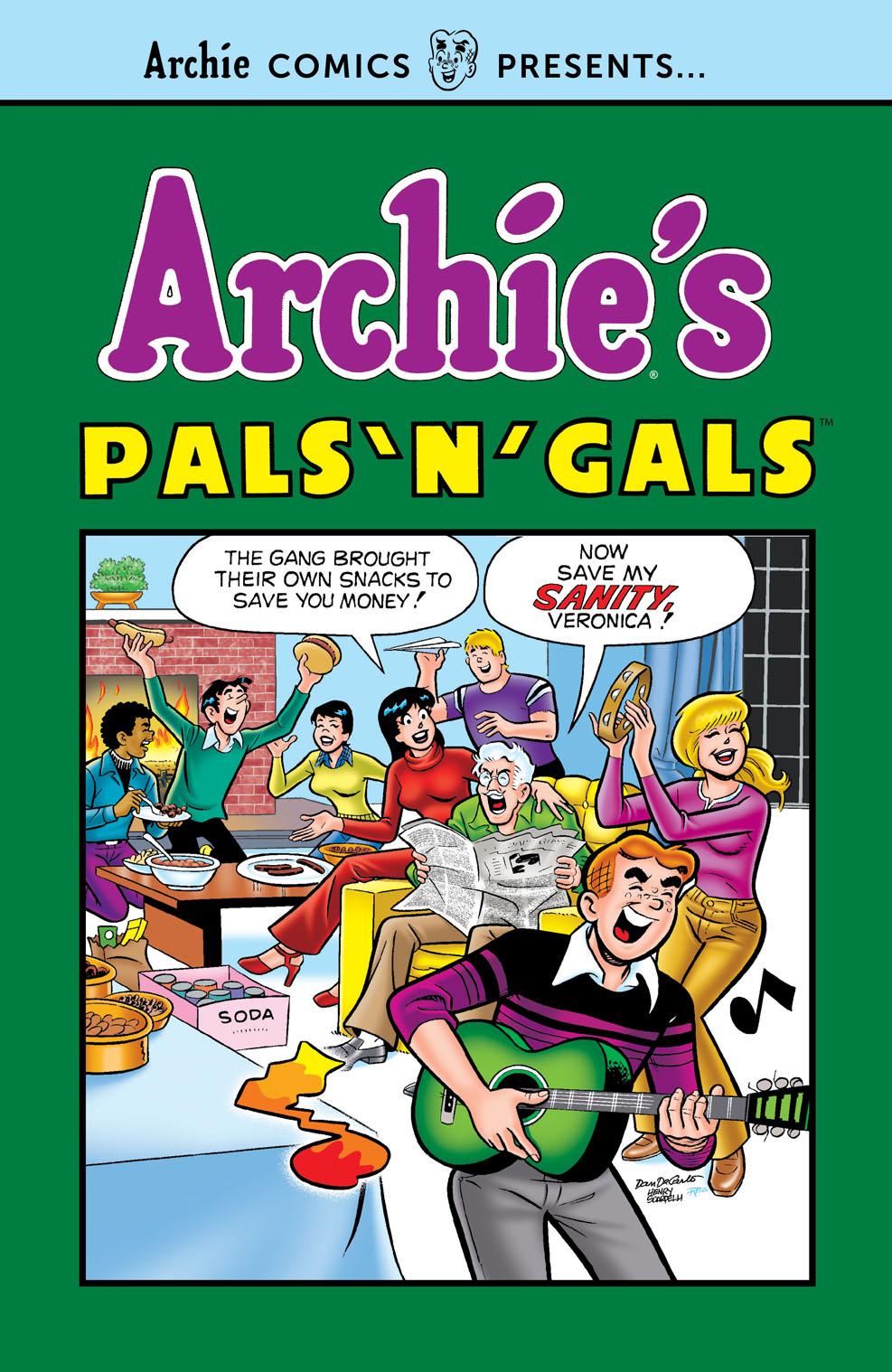ACP-ArchiesPalsNGals Archie Comic Publications December 2021 Solicitations