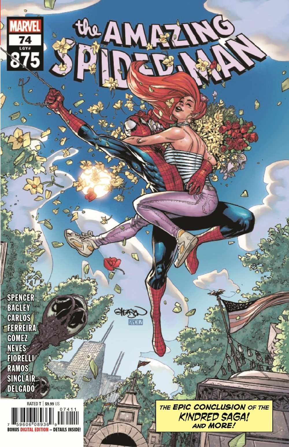 ASM2018074_Preview-1 ComicList Previews: AMAZING SPIDER-MAN #74