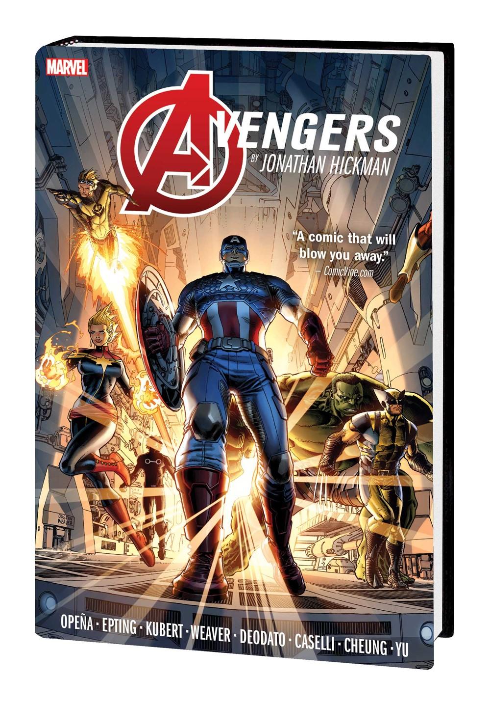 AVENGERS_JH_OMNI_V1_HC Marvel Comics December 2021 Solicitations