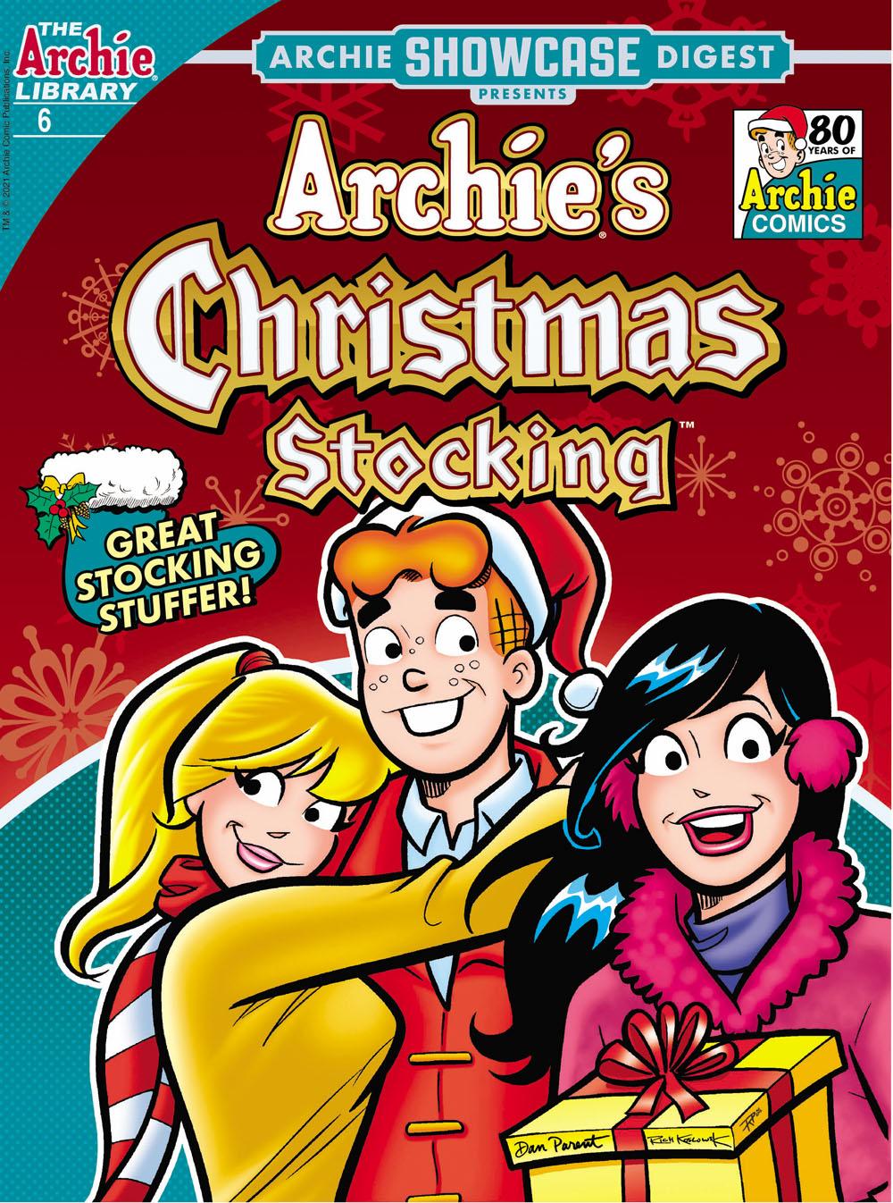 ArchieShowcase6 Archie Comic Publications December 2021 Solicitations