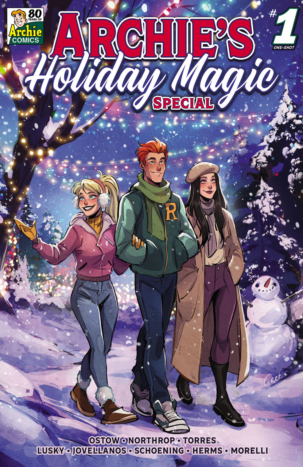 ArchiesHolidayMagicSpecial Archie Comic Publications December 2021 Solicitations