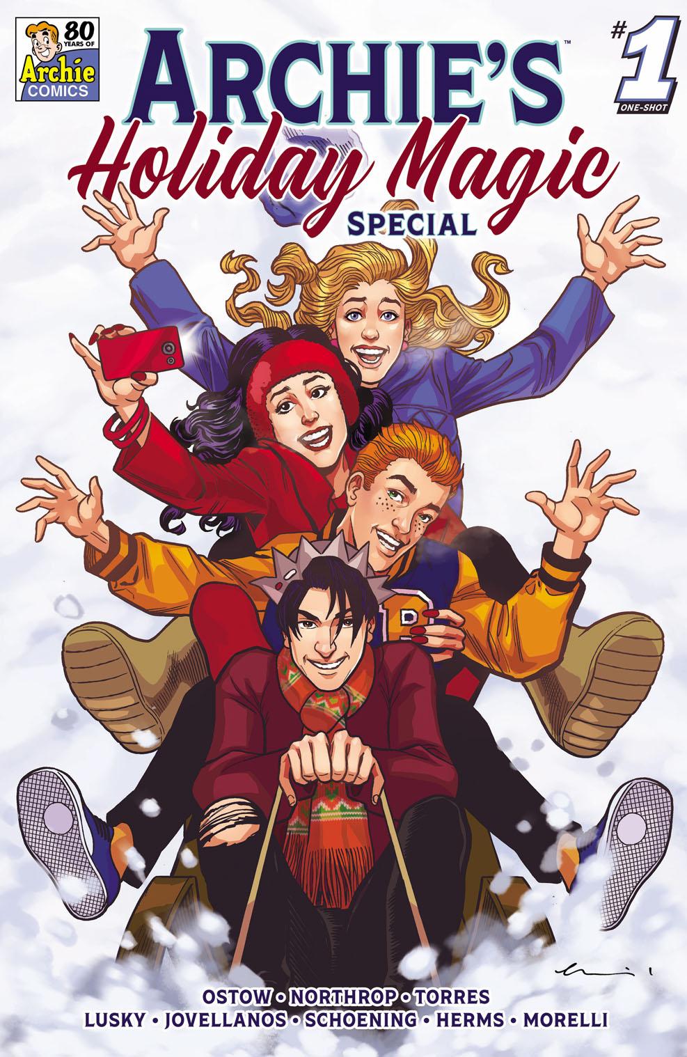 ArchiesHolidayMagicSpecialVar Archie Comic Publications December 2021 Solicitations