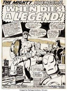 Avengers-81-Page-1-Original-art-by-John-Buscema-and-Tom-Palmer-221x300 John Buscema Original Art: Beyond Barbarians