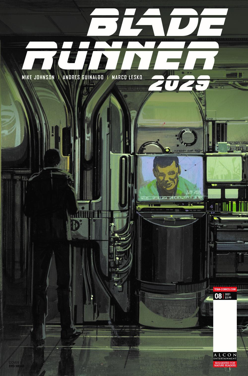 BLADE-RUNNER-2029-8-CVR-B-MEAD-MR ComicList Previews: BLADE RUNNER 2029 #8