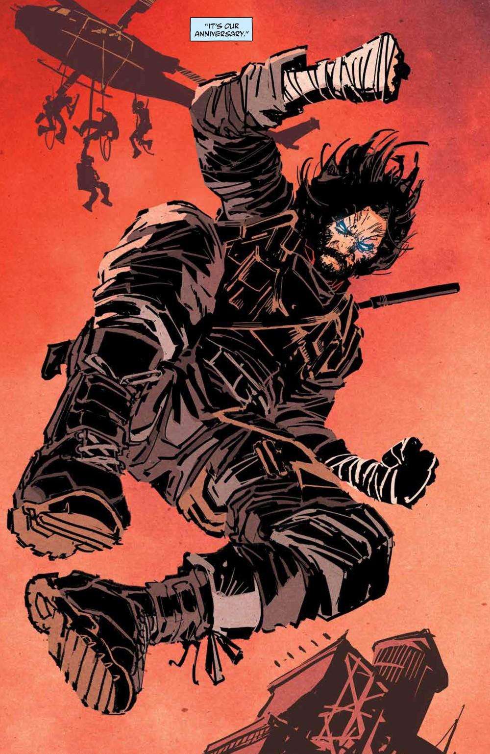 BRZRKR_v1_SC_PRESS_14 ComicList Previews: BRZRKR VOLUME 1 TP