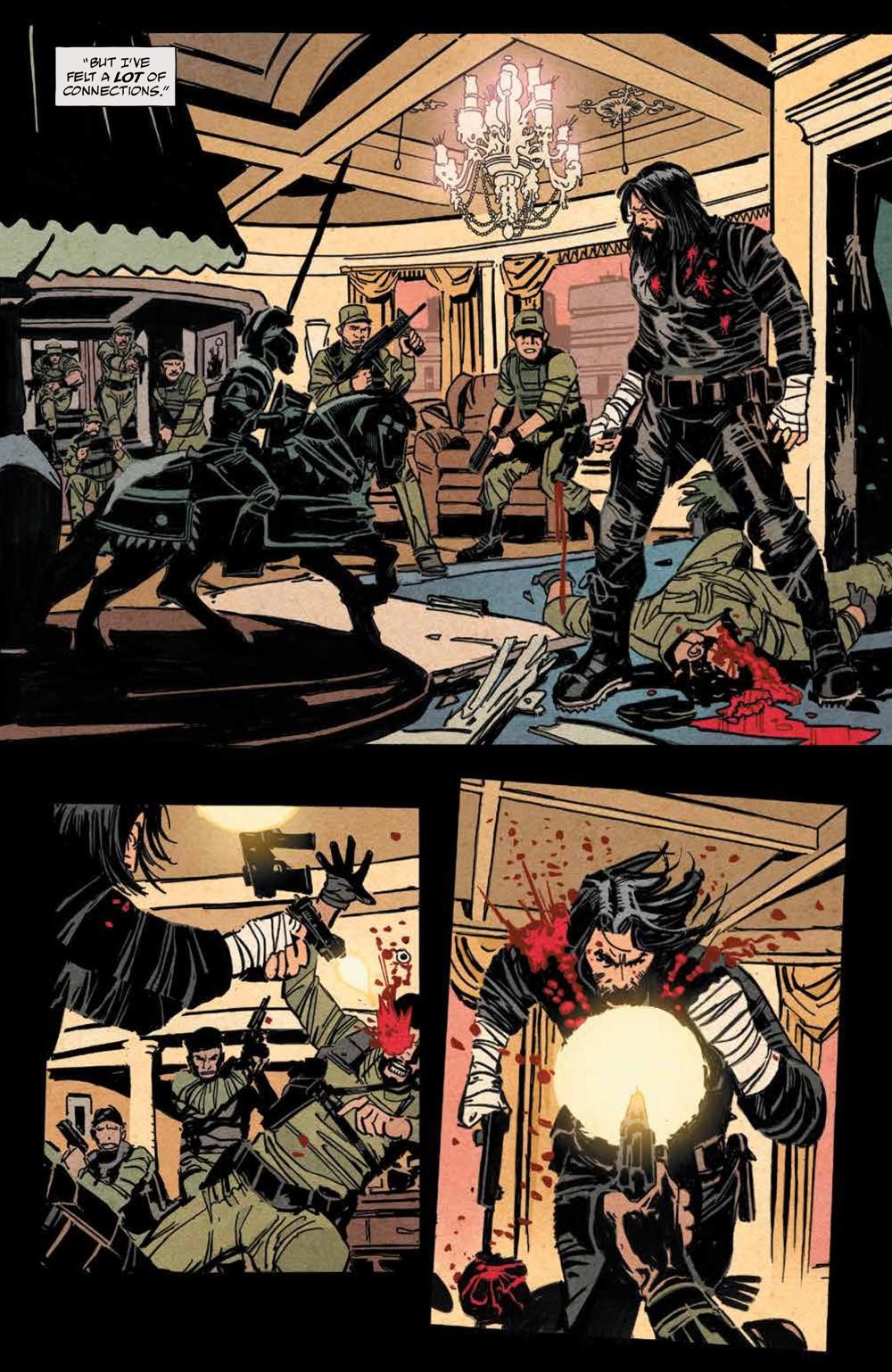 BRZRKR_v1_SC_PRESS_18 ComicList Previews: BRZRKR VOLUME 1 TP