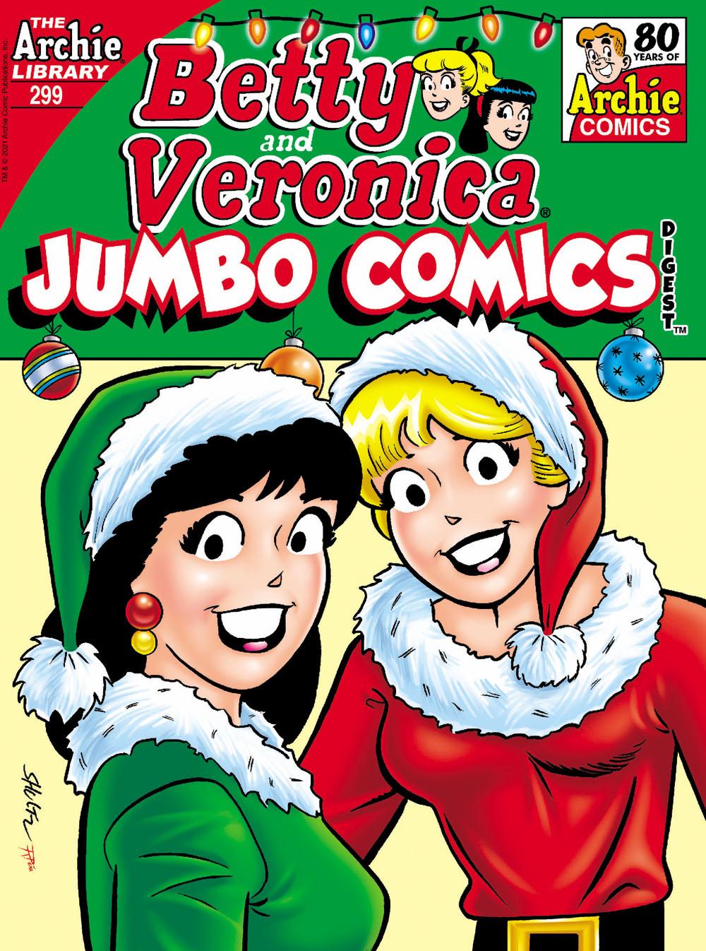 BVJumbo299 Archie Comic Publications December 2021 Solicitations