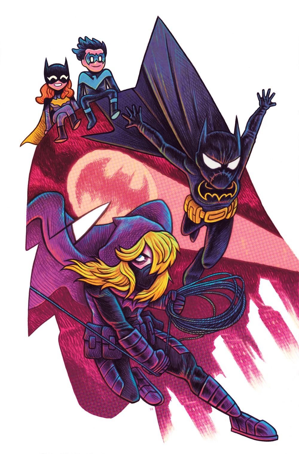 Batgirls_Cv1_150-var_DanHipp DC Comics December 2021 Solicitations