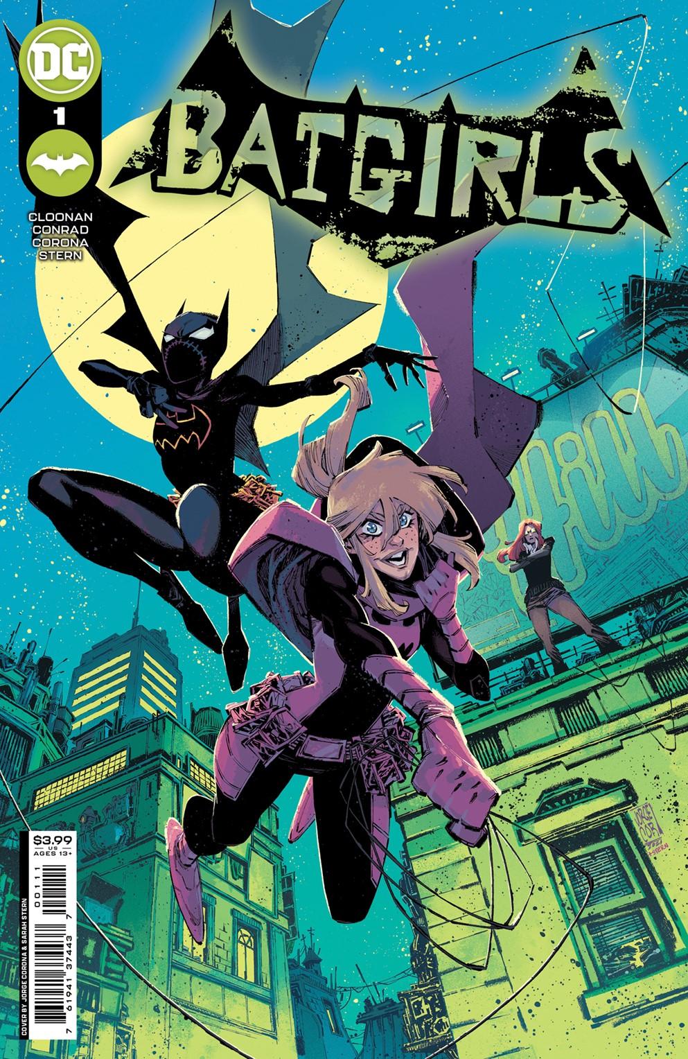 Batgirls_Cv1_main_JorgeCorona DC Comics December 2021 Solicitations