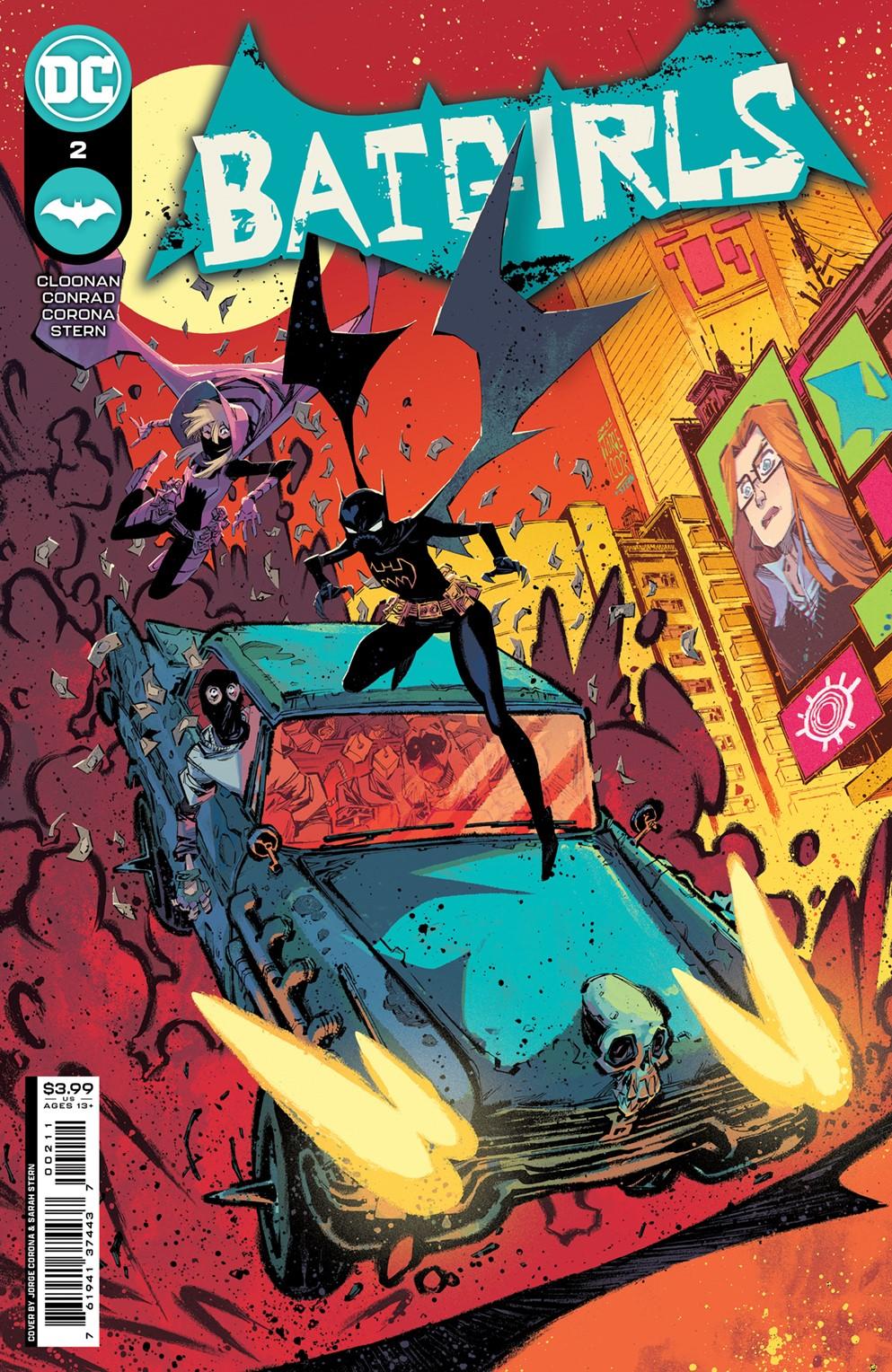 Batgirls_Cv2_main_JorgeCorona-logo DC Comics December 2021 Solicitations