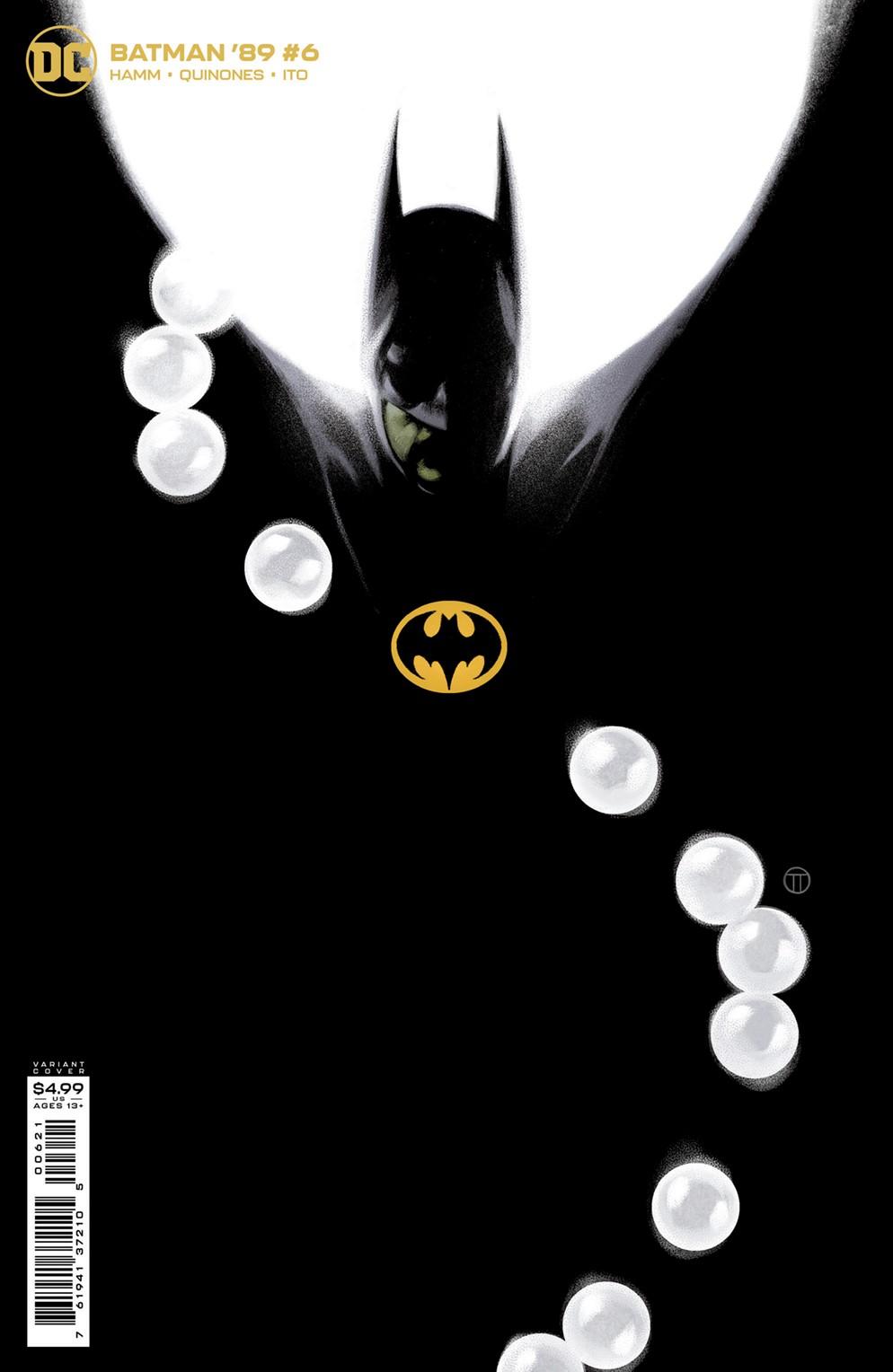 Batman89_Cv6_var DC Comics December 2021 Solicitations