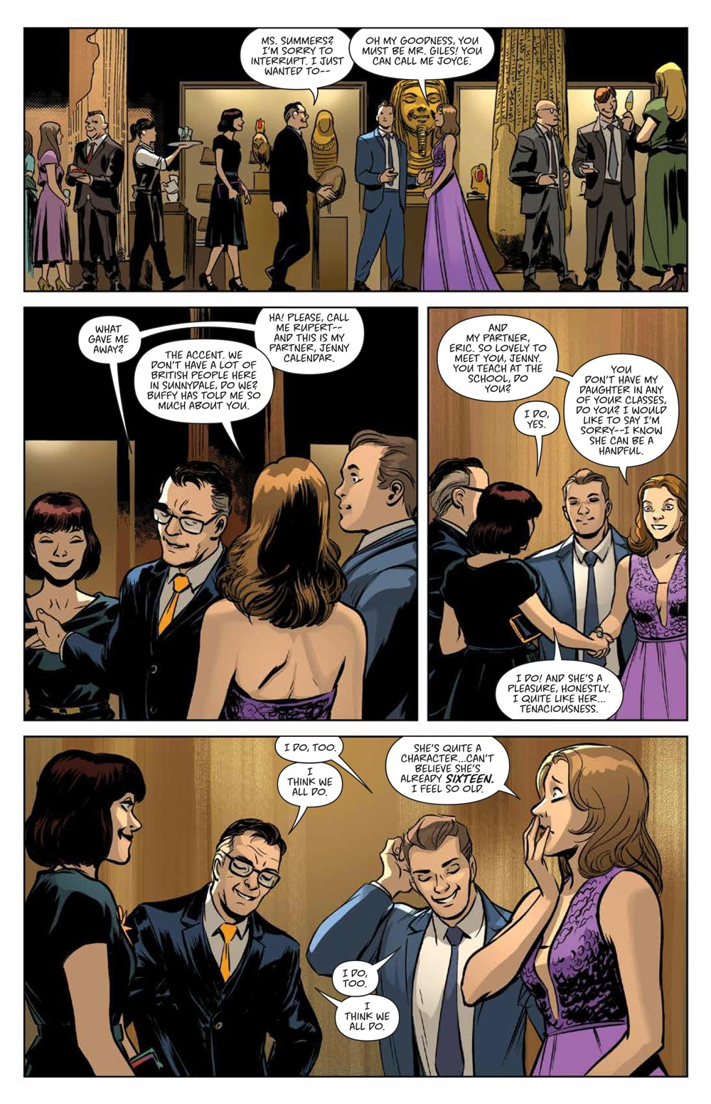 Buffy_Deluxe_v2_Hellmouth_HC_PRESS_14 ComicList Previews: BUFFY THE VAMPIRE SLAYER HELLMOUTH DELUXE EDITION HC