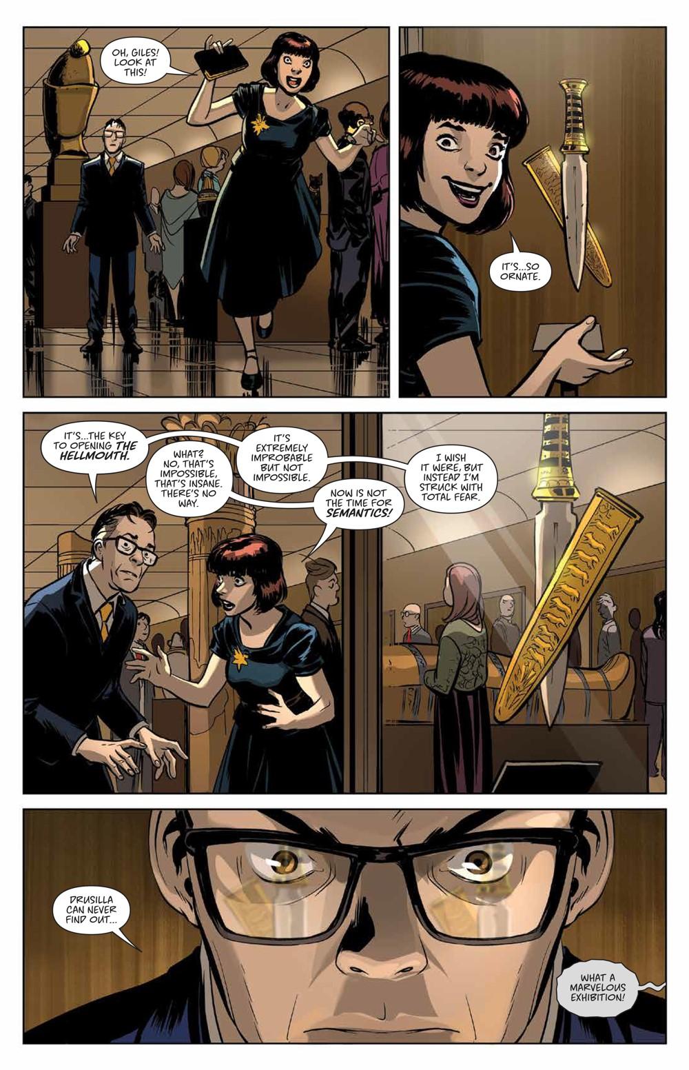 Buffy_Deluxe_v2_Hellmouth_HC_PRESS_19 ComicList Previews: BUFFY THE VAMPIRE SLAYER HELLMOUTH DELUXE EDITION HC