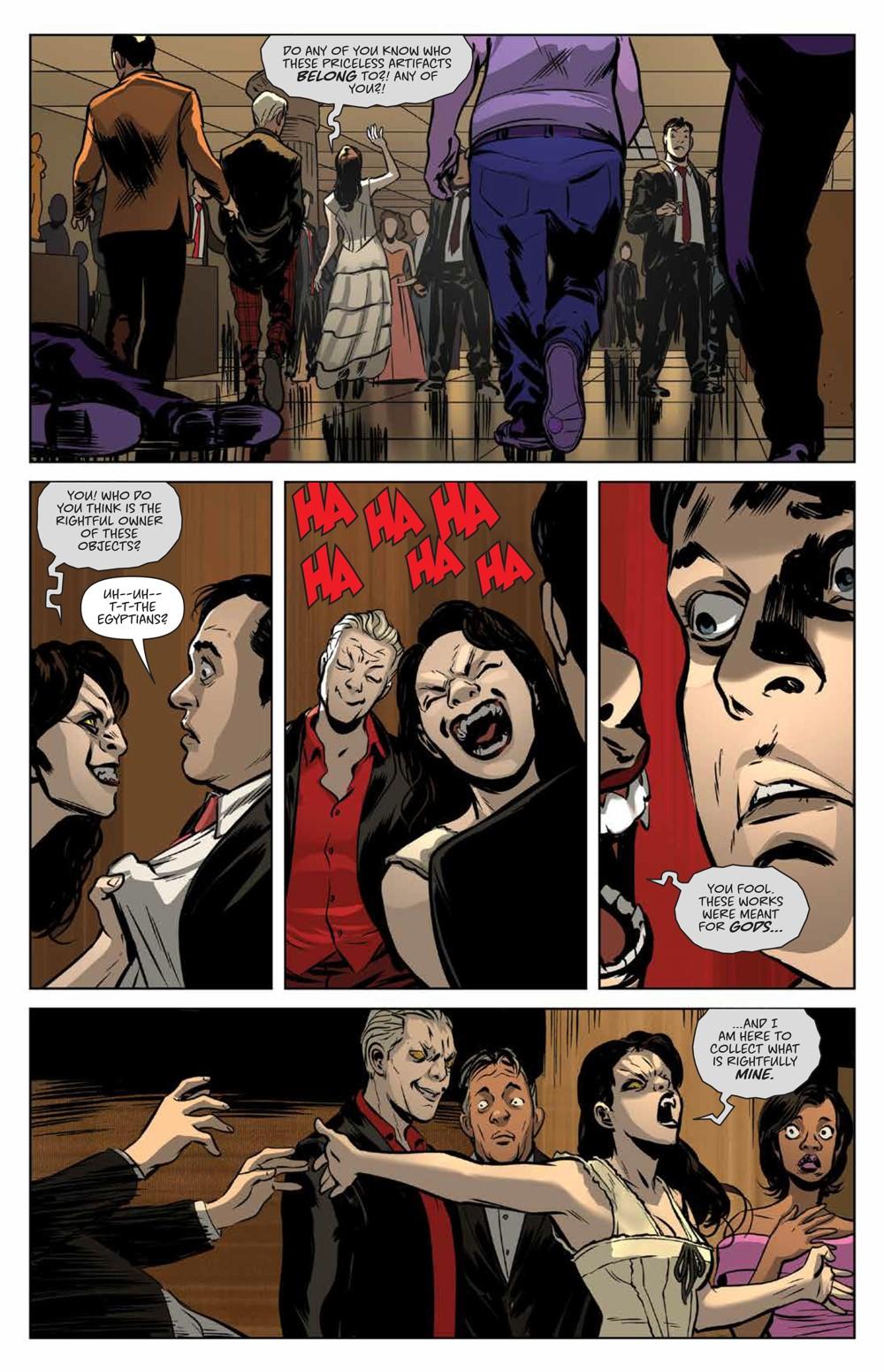Buffy_Deluxe_v2_Hellmouth_HC_PRESS_21 ComicList Previews: BUFFY THE VAMPIRE SLAYER HELLMOUTH DELUXE EDITION HC