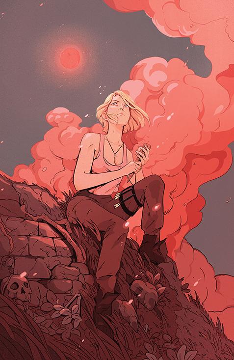 Buffy_LastVampireSlayer_001_Cover_E_Variant BOOM! Studios December 2021 Solicitations