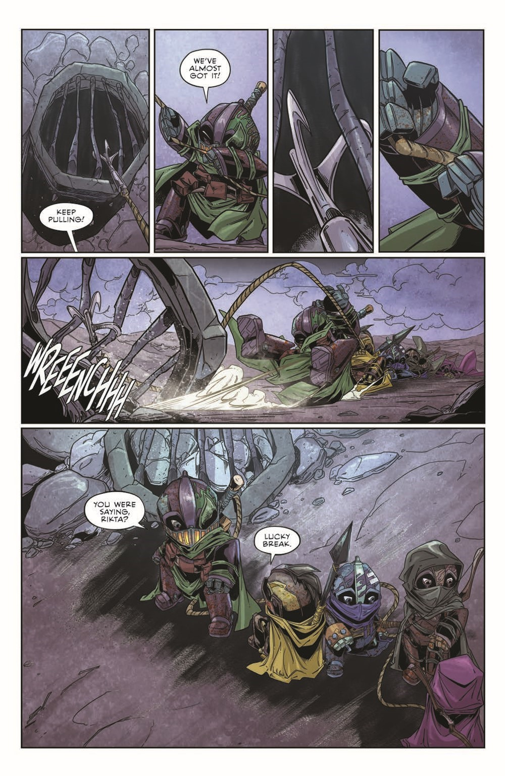 Canto-LH03_pr-4 ComicList Previews: CANTO III LIONHEARTED #3 (OF 6)