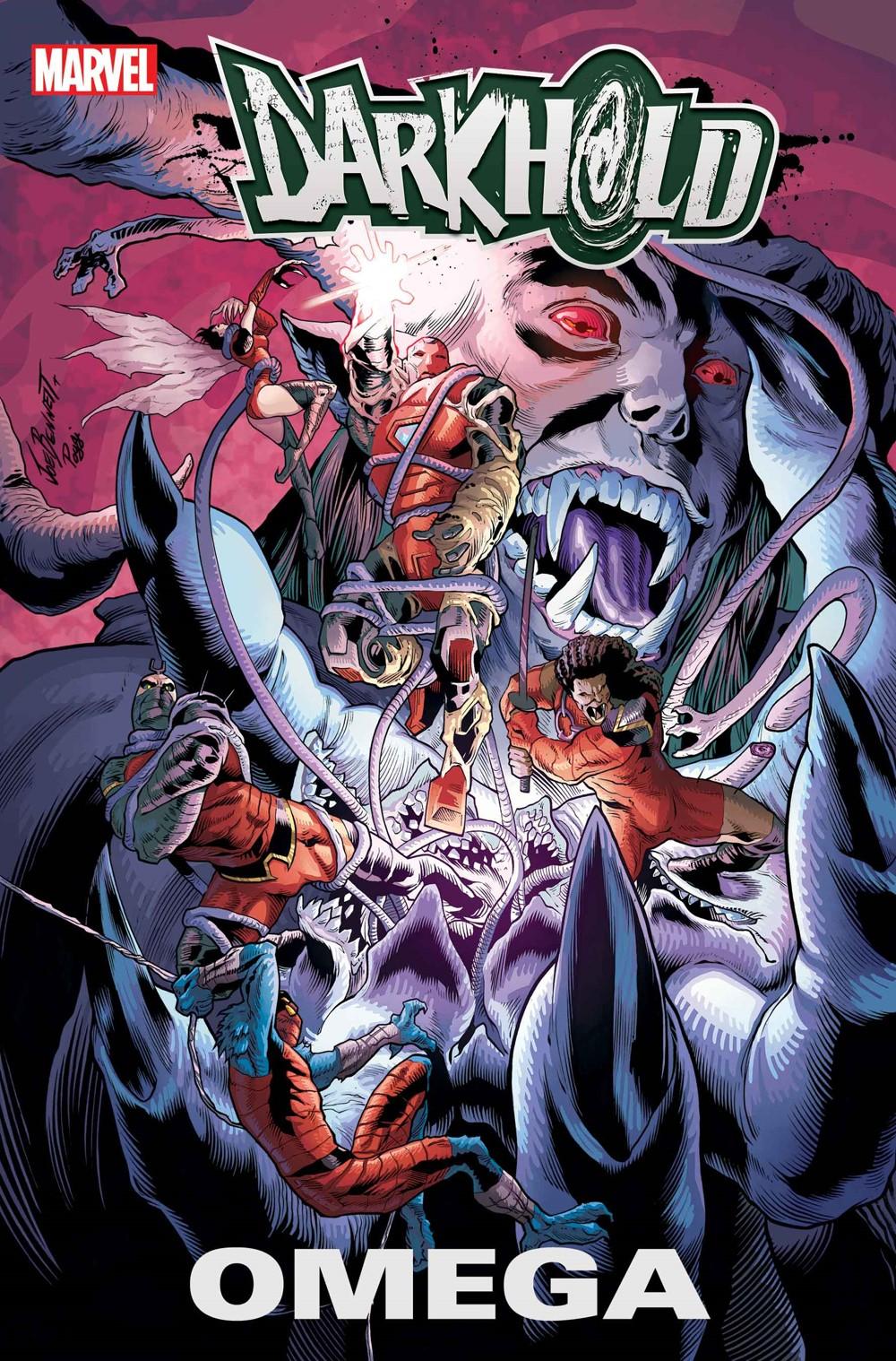 DARKHOLDOMEGA2021001 Marvel Comics December 2021 Solicitations