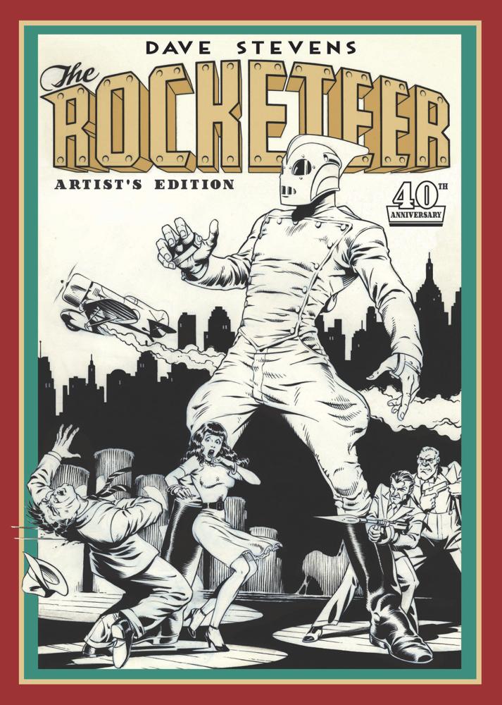 DAVE-STEVENS-ROCKETEER-ARTIST-EDITION-CVR IDW Publishing December 2021 Solicitations