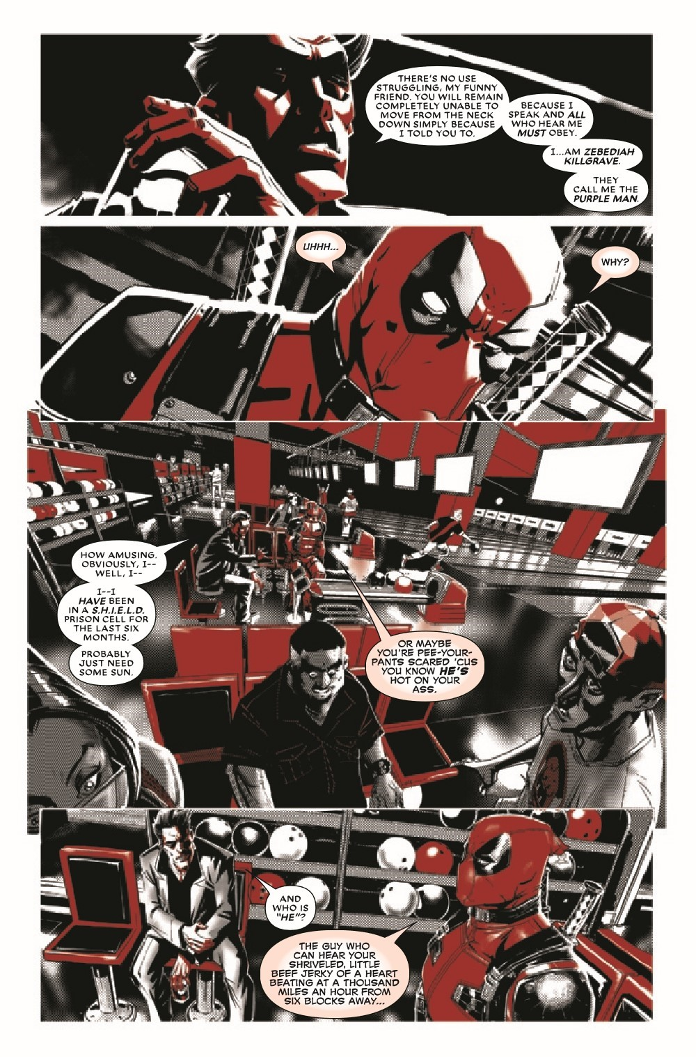 DPOOLBLKWHBL2021002_Preview-3 ComicList Previews: DEADPOOL BLACK WHITE AND BLOOD #2 (OF 4)