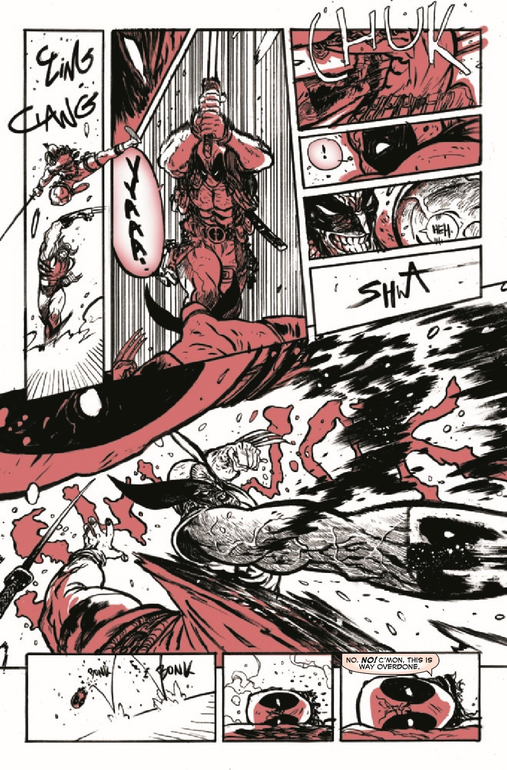 DPOOLBLKWHBL2021002_Preview-6 ComicList Previews: DEADPOOL BLACK WHITE AND BLOOD #2 (OF 4)