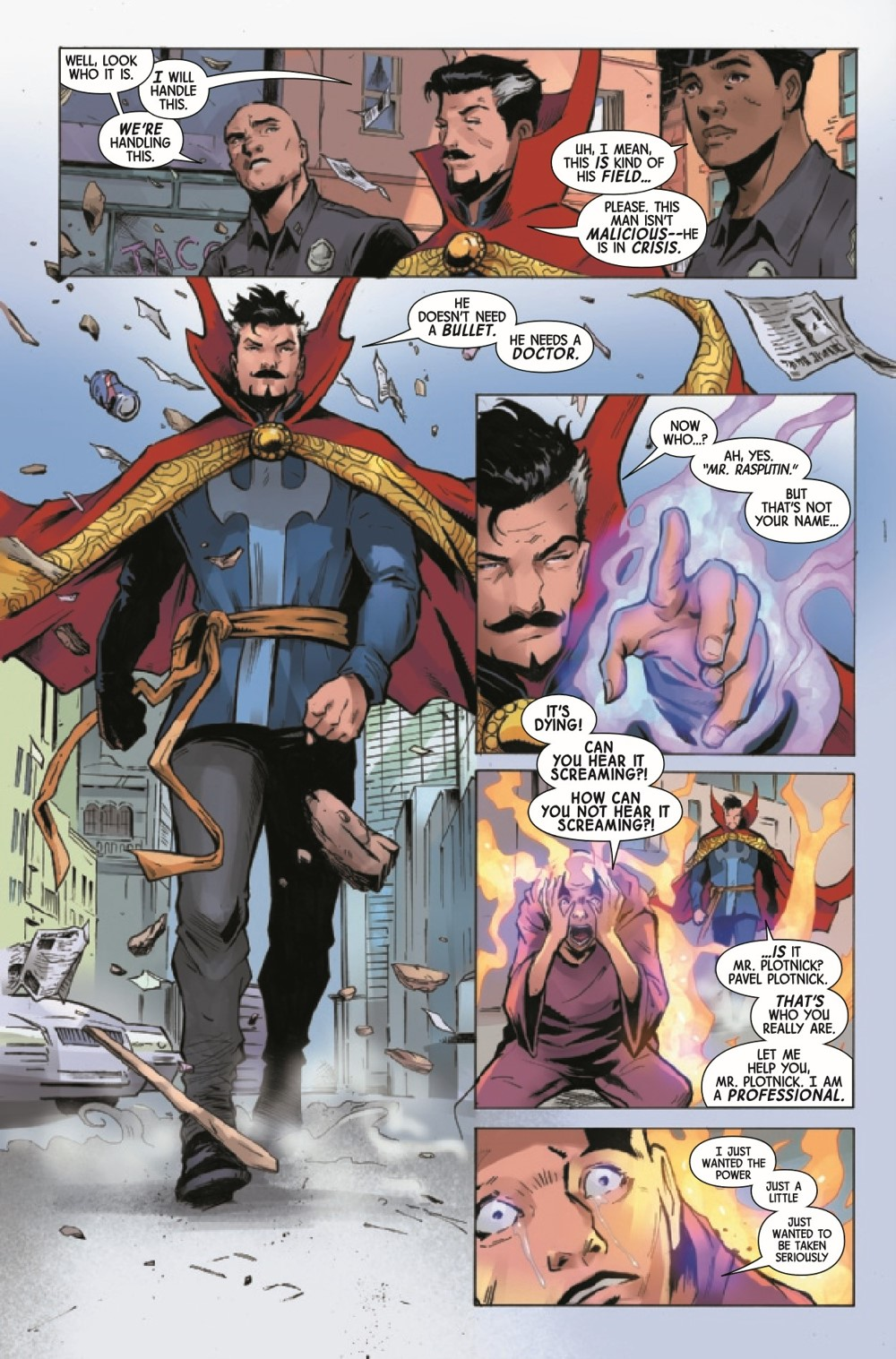 DRSDEATH2021001_Preview-4 ComicList Previews: DEATH OF DOCTOR STRANGE #1 (OF 5)