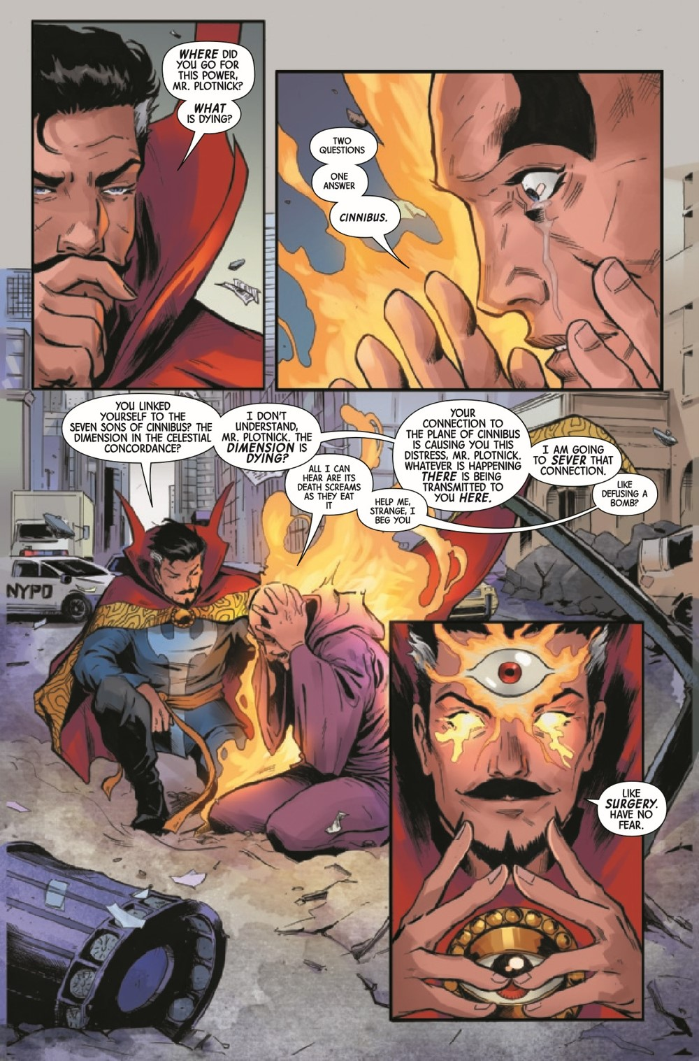 DRSDEATH2021001_Preview-5 ComicList Previews: DEATH OF DOCTOR STRANGE #1 (OF 5)