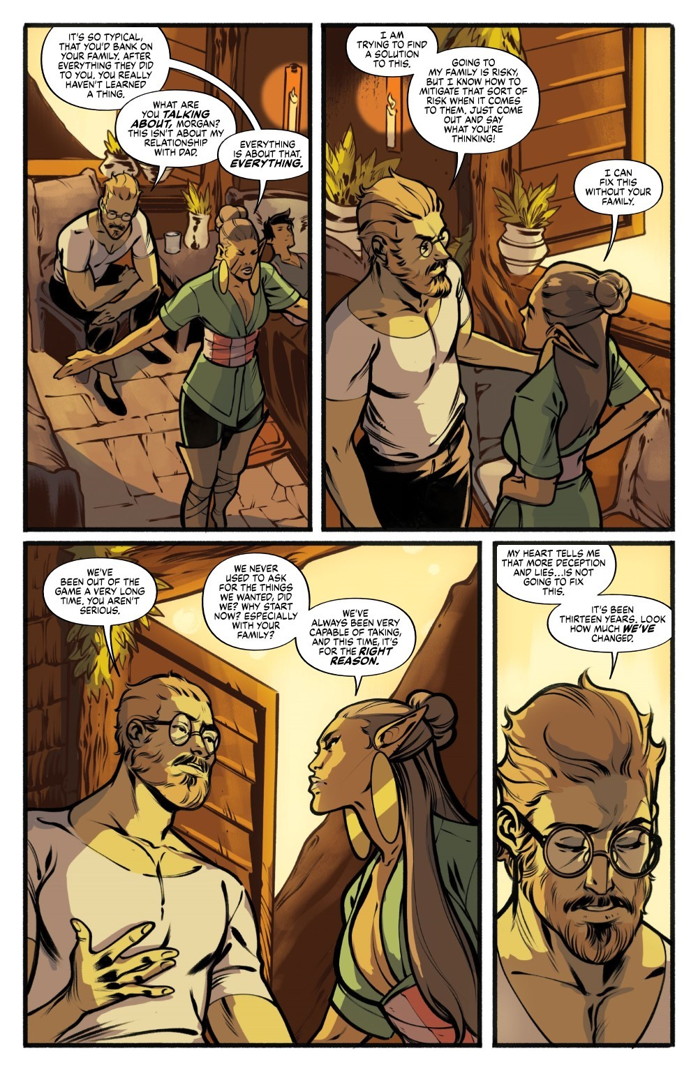 DRYAD-V2-TPB-REFERENCE-015 ComicList Previews: DRYAD VOLUME 2 TP