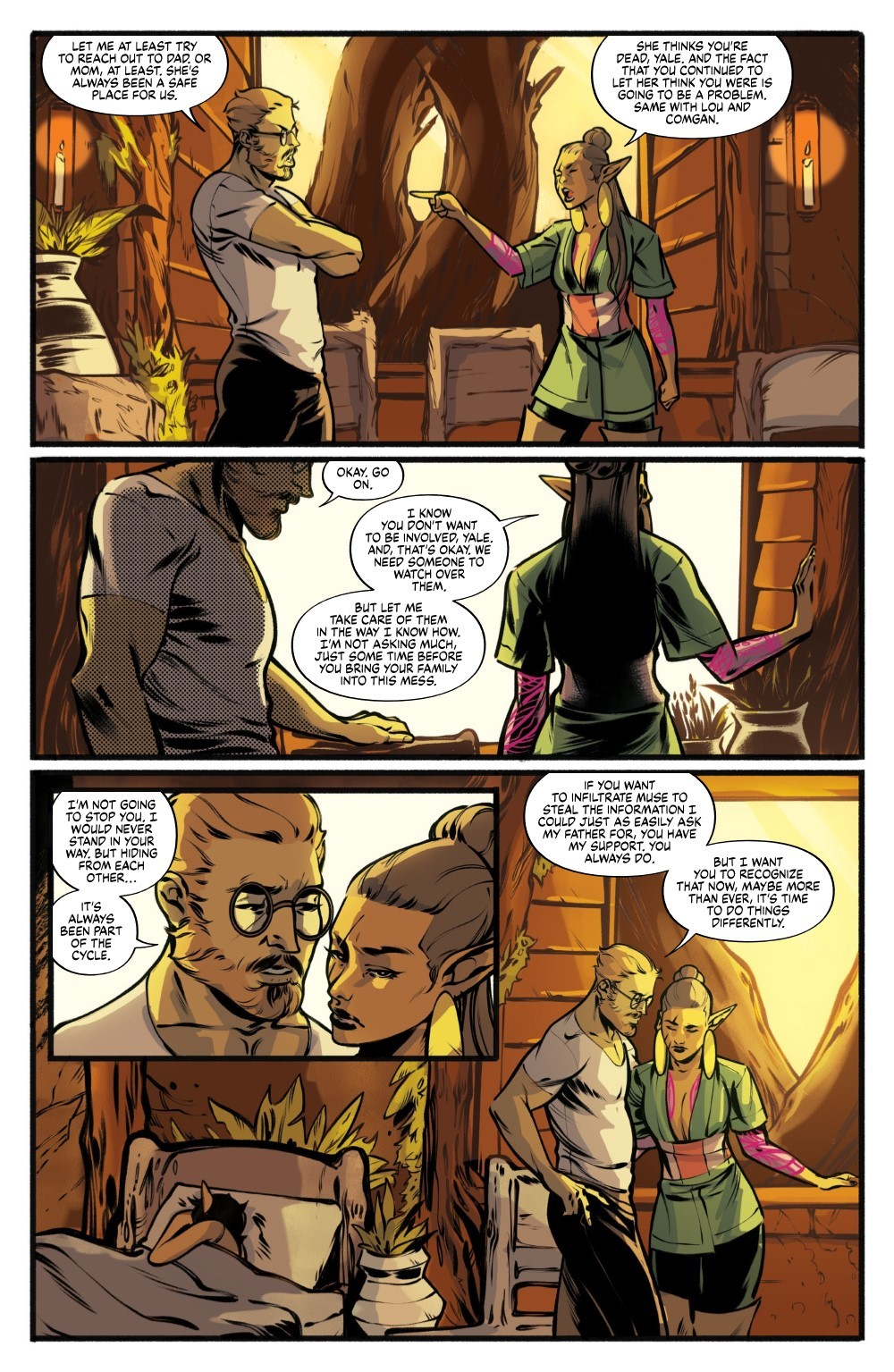 DRYAD-V2-TPB-REFERENCE-016 ComicList Previews: DRYAD VOLUME 2 TP