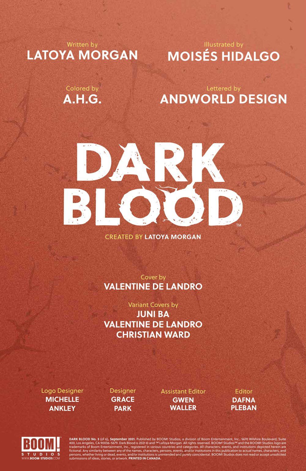 DarkBlood_003_PRESS_2 ComicList Previews: DARK BLOOD #3 (OF 6)
