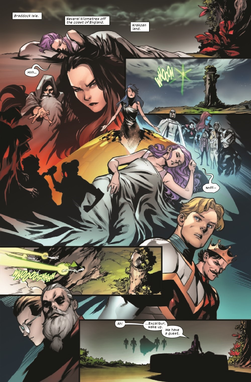 EXCAL2019023_Preview-2 ComicList Previews: EXCALIBUR #23
