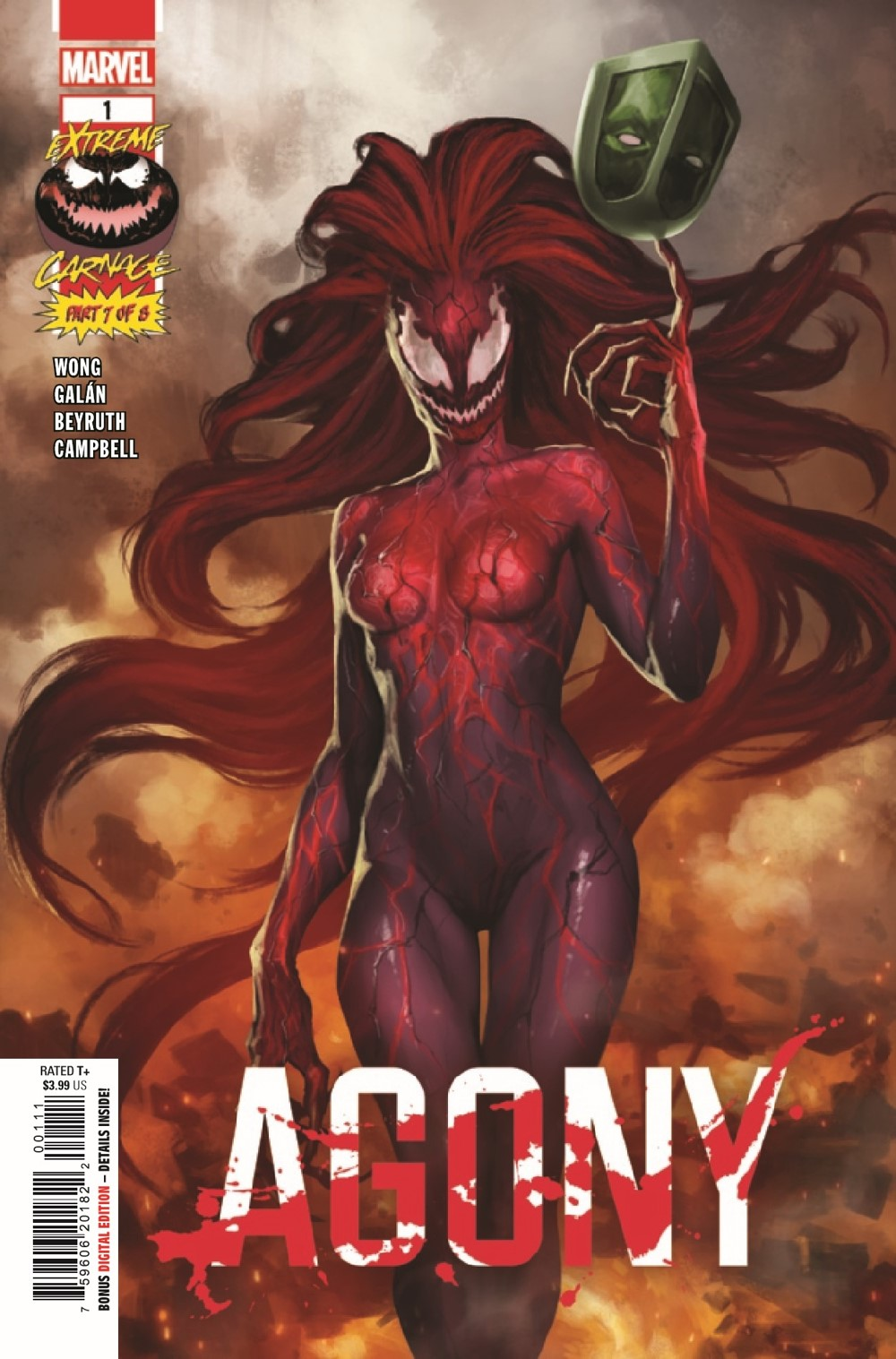 EXTCARNAG2021001_Preview-1 ComicList Previews: EXTREME CARNAGE AGONY #1