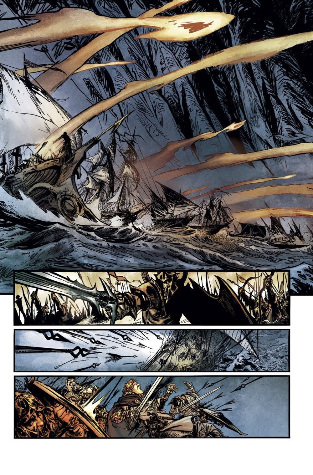 Elric-The-Deaming-City-2-Spread-4 ComicList Previews: ELRIC THE DREAMING CITY #2