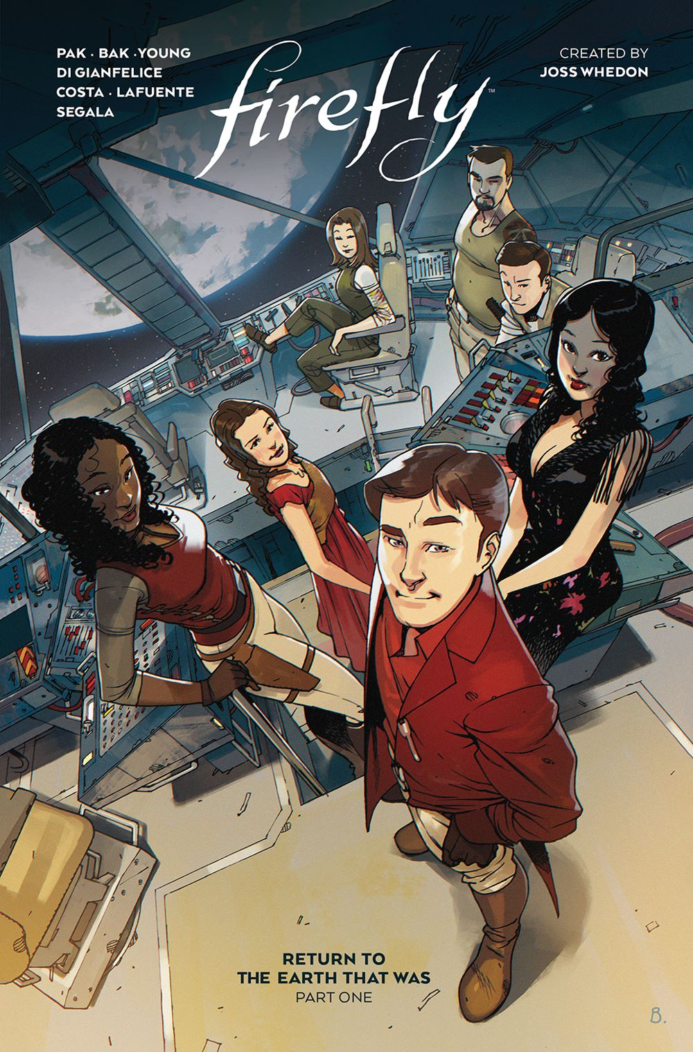 Firefly_ReturnToEarth_v1_HC_Cover ComicList Previews: FIREFLY RETURN TO THE EARTH THAT WAS VOLUME 1 HC