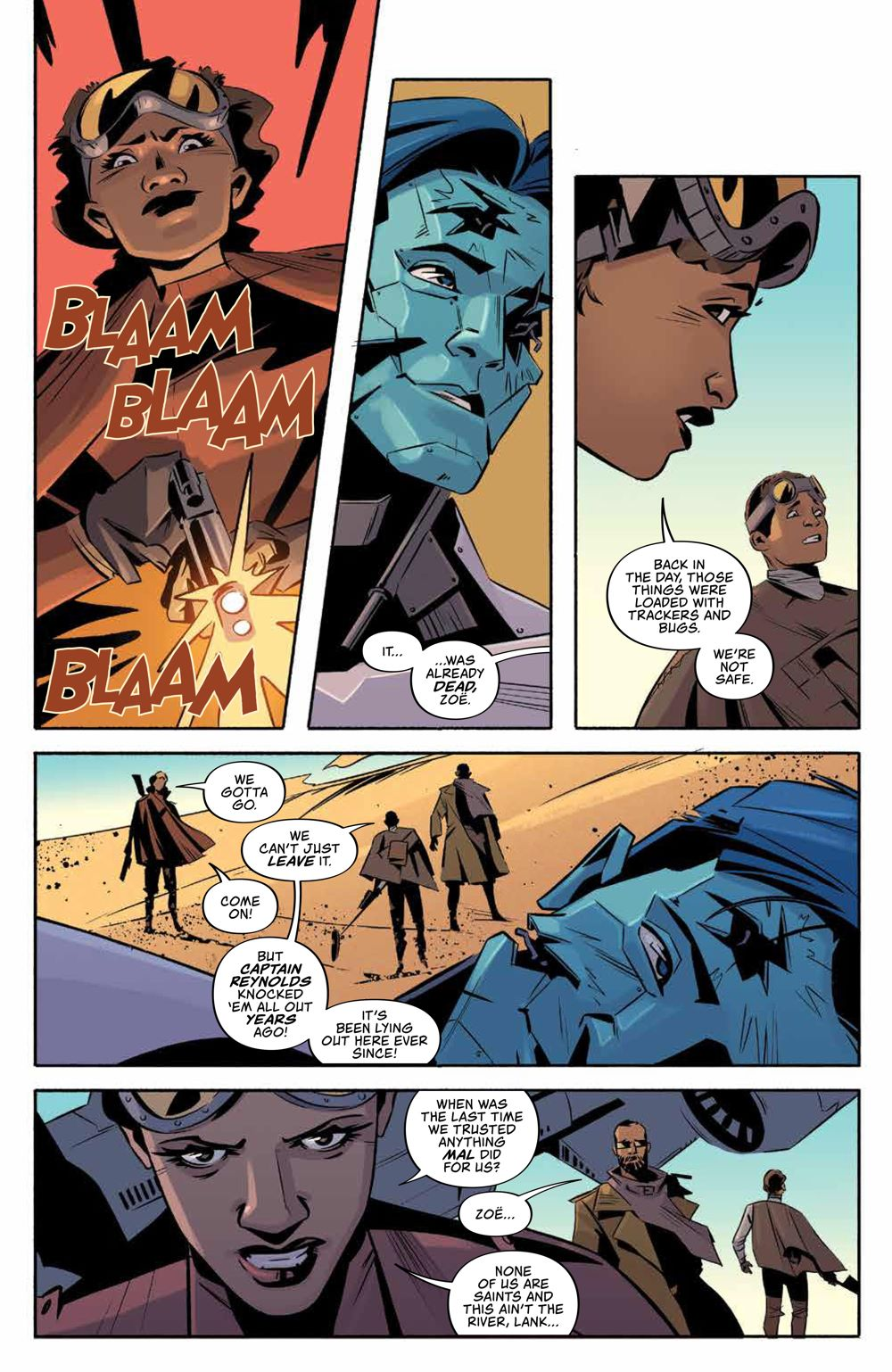 Firefly_ReturnToEarth_v1_HC_PRESS_11 ComicList Previews: FIREFLY RETURN TO THE EARTH THAT WAS VOLUME 1 HC