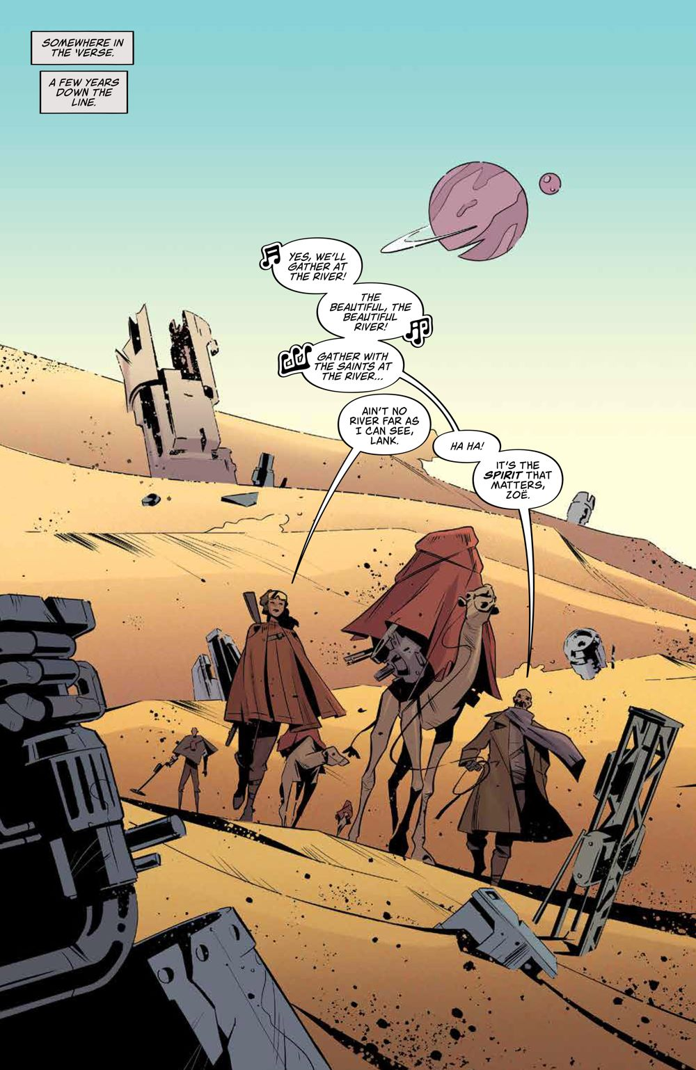 Firefly_ReturnToEarth_v1_HC_PRESS_8 ComicList Previews: FIREFLY RETURN TO THE EARTH THAT WAS VOLUME 1 HC