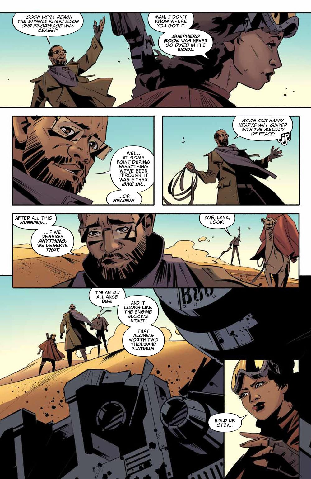 Firefly_ReturnToEarth_v1_HC_PRESS_9 ComicList Previews: FIREFLY RETURN TO THE EARTH THAT WAS VOLUME 1 HC
