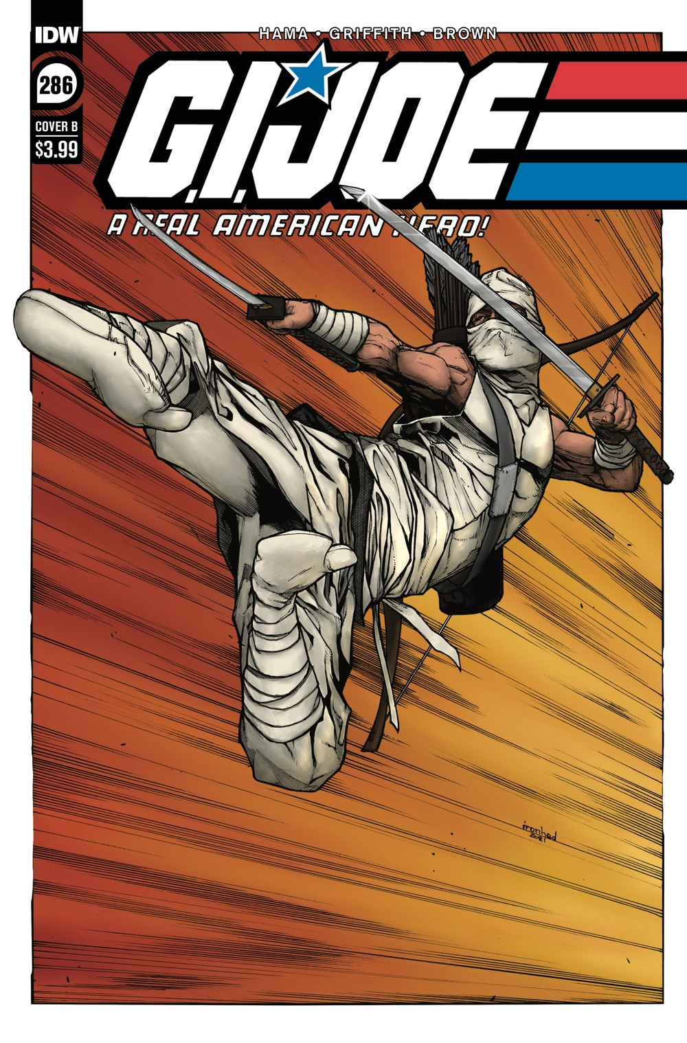 GIJoeRAH286-coverB ComicList: IDW Publishing New Releases for 09/22/2021