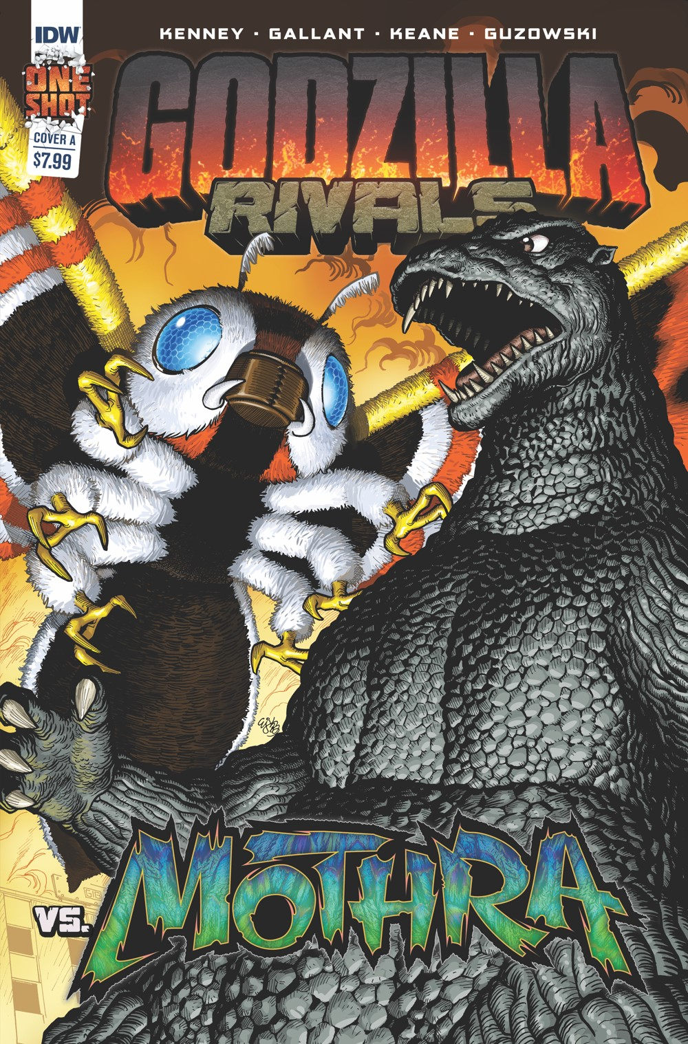 Godzilla_Rivals_2_Cover_A ComicList: IDW Publishing New Releases for 09/15/2021