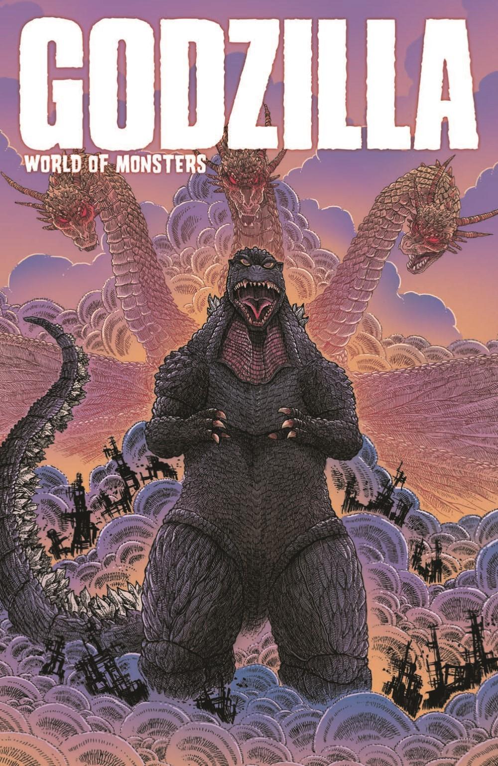 Godzilla_WOM_TPB_pr-1 ComicList Previews: GODZILLA WORLD OF MONSTERS TP