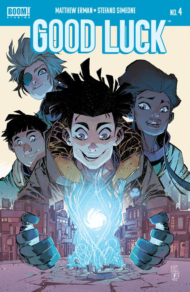 GoodLuck_004_Cover_A1_Main ComicList Previews: GOOD LUCK #4 (OF 5)