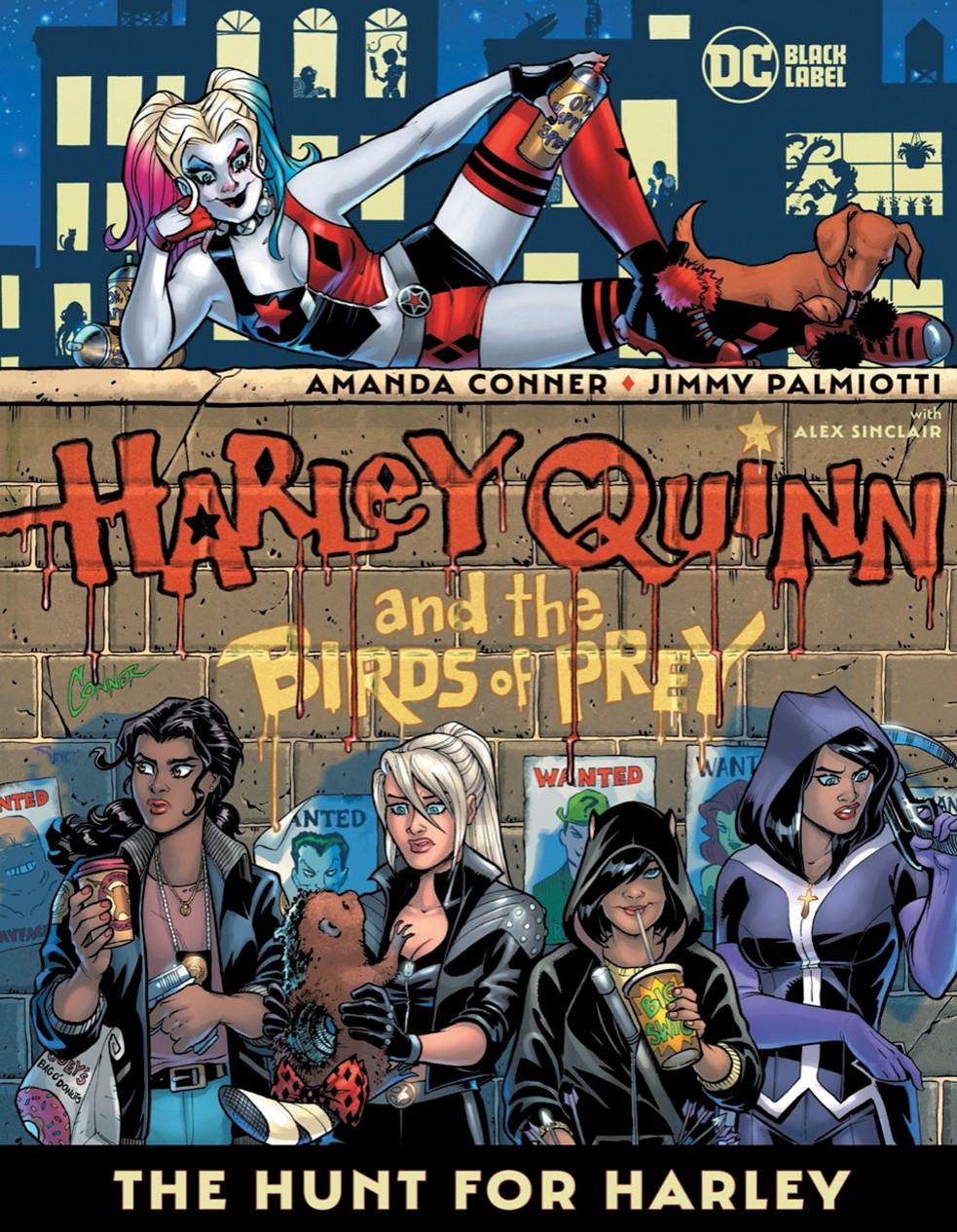 Harley-Quinn-Birds-of-Prey DC Comics December 2021 Solicitations