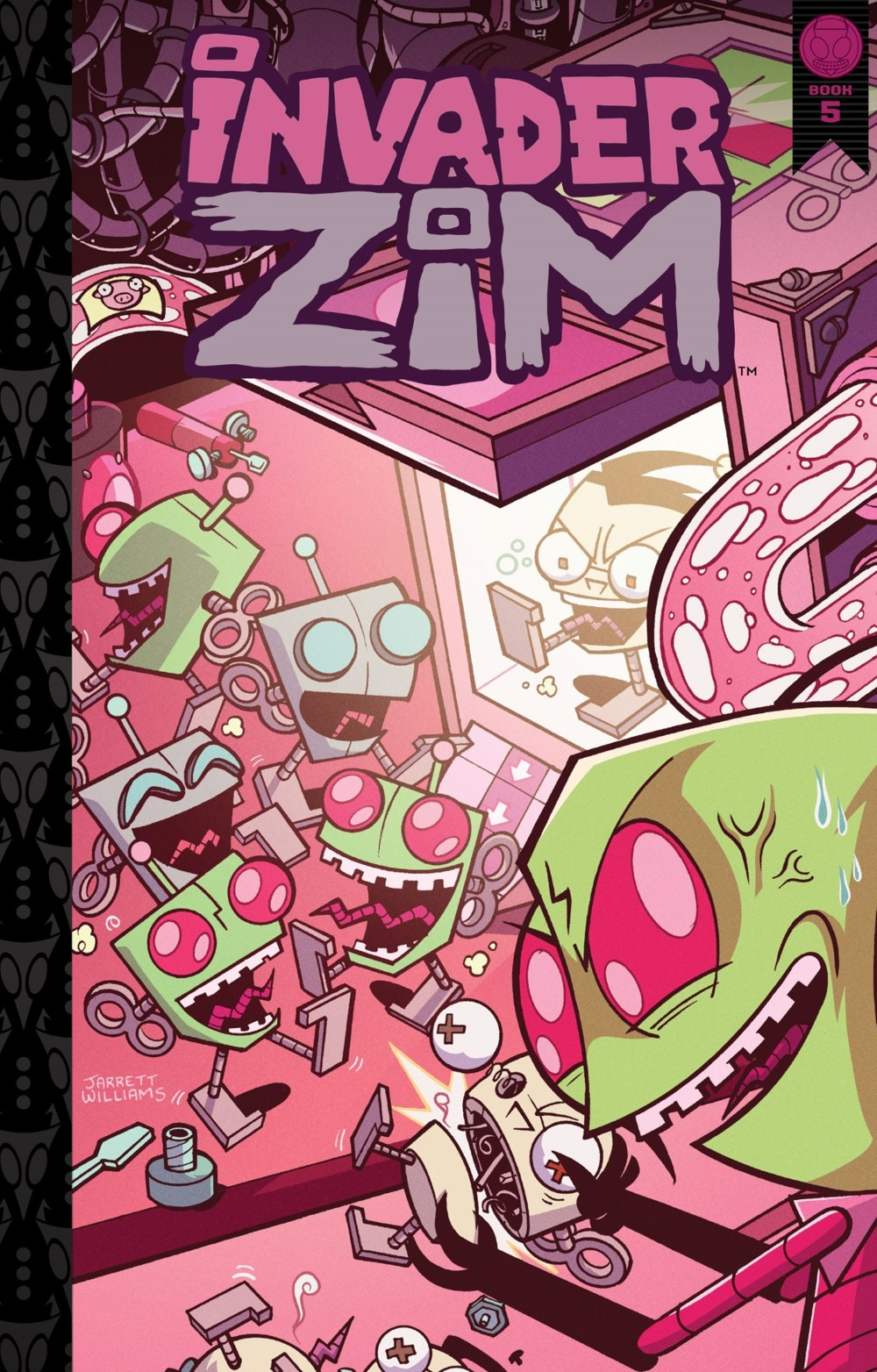 INVADERZIM5-HC-REFERENCE-001 ComicList Previews: INVADER ZIM DELUXE EDITION VOLUME 5 HC
