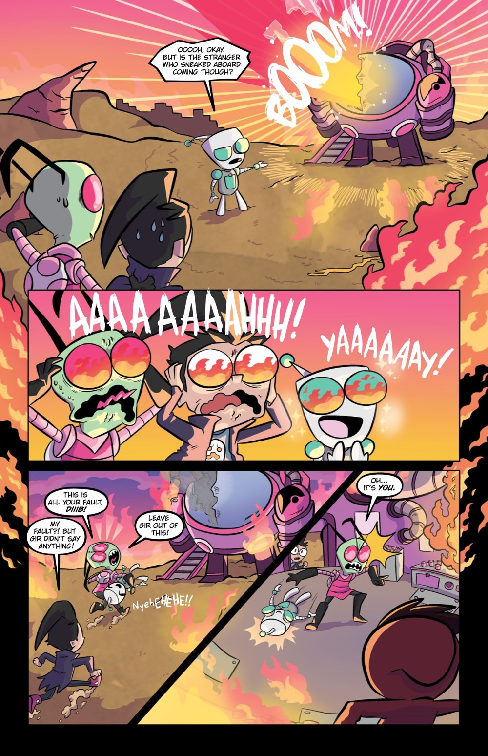 INVADERZIM5-HC-REFERENCE-009 ComicList Previews: INVADER ZIM DELUXE EDITION VOLUME 5 HC