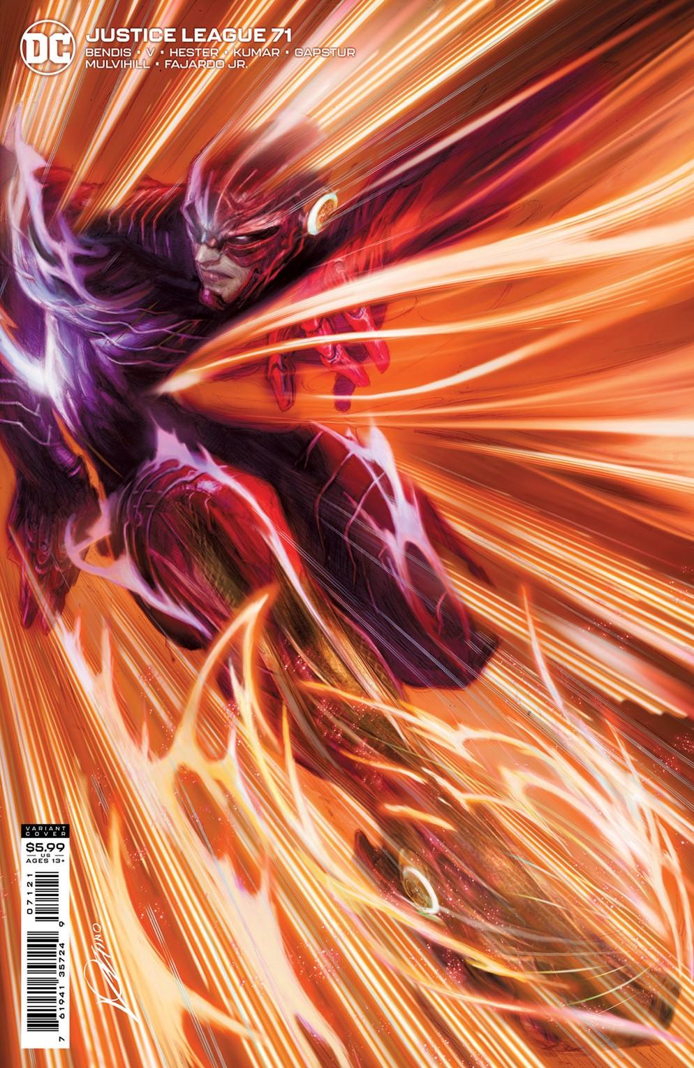 JL_Cv71_var DC Comics December 2021 Solicitations