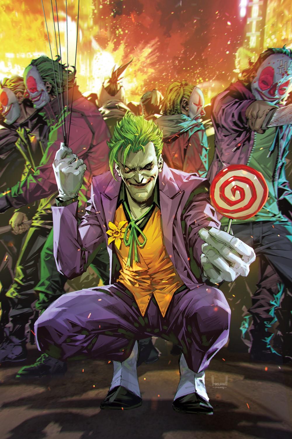 Joker_Cv11-Variant2 DC Comics December 2021 Solicitations